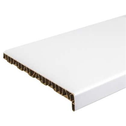 Подоконник пластиковый 300x2000 мм цвет белый