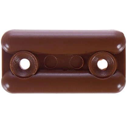 Подпятник прямоугольнык 18х35 см пластик цвет светло-коричневый 8 шт.