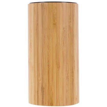Подставка под ножи D120х233 мм цвет бамбук