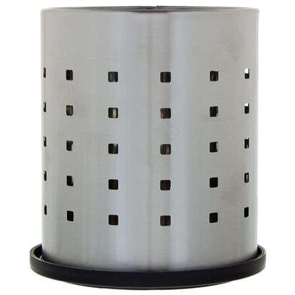 Подставка под столовые приборы Neo 120х120х130 мм цвет хром