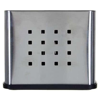 Купить Подставка под столовые приборы Neo 170х100х135 мм цвет хром дешевле