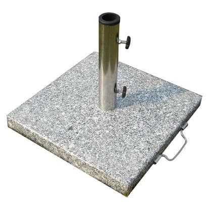 Подставка под зонт гранит/нержавеющая сталь 30 кг серый