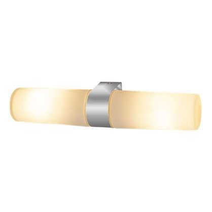 Купить Подсветка зеркала Round 2xE14x42 Вт цвет хром дешевле