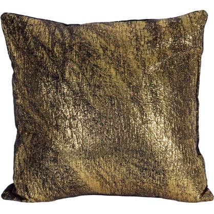 Подушка Черное золото 40x40 см цвет черный