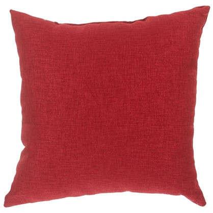 Подушка декоративная 40х40 см цвет красный