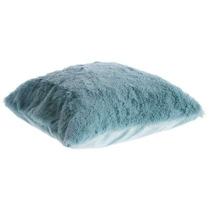 Купить Подушка декоративная 40х40 см цвет ментоловый дешевле