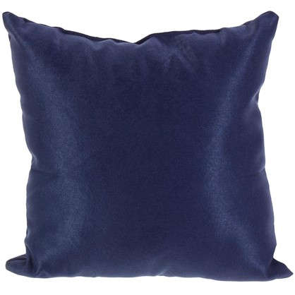 Подушка декоративная 40х40 см цвет темно-синий