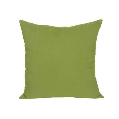 Купить Подушка декоративная 40х40 см текстура рогожка цвет зеленый дешевле