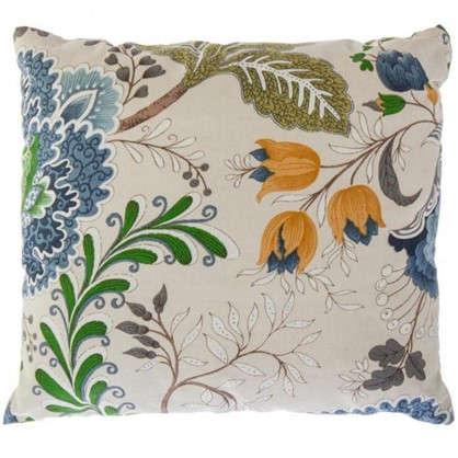 Подушка декоративная Casandra 40х40 см цвет синий