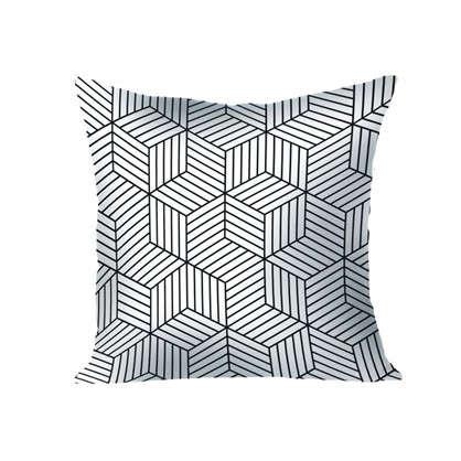 Подушка декоративная Геометрия: Куб 40х40 см