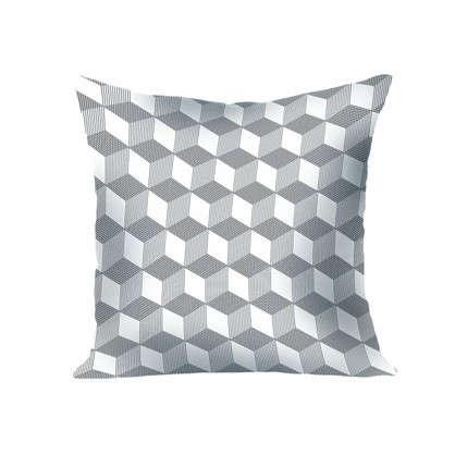 Купить Подушка декоративная Геометрия: Квадрат 40х40 см дешевле