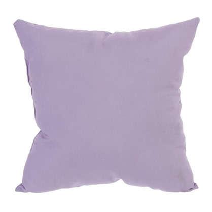 Подушка декоративная Классика 40х40 см цвет розовый