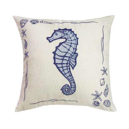 Купить Подушка декоративная Море: Конек 40х40 см дешевле