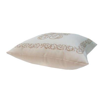 Подушка декоративная Неоклассика 40х40 см цвет золотой