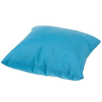 Подушка декоративная Однотон 40х40 см цвет бирюзовый
