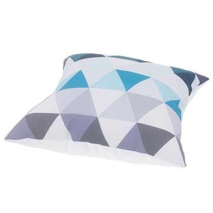 Подушка декоративная Охара 40х40 см цвет бирюзовый