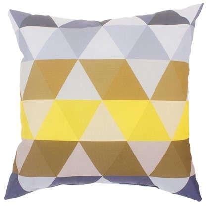 Подушка декоративная Охара 40х40 см цвет желтый