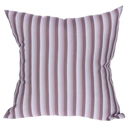 Подушка декоративная Полосы 40х40 см цвет коричневый