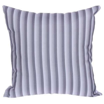 Купить Подушка декоративная Полосы 40х40 см цвет серый дешевле