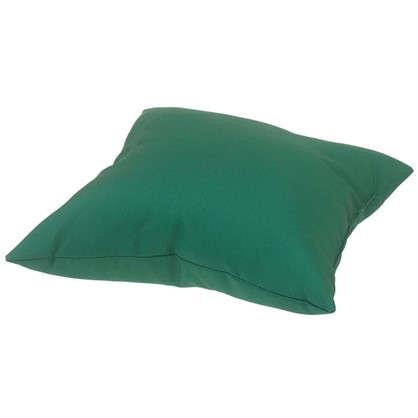 Купить Подушка декоративная Природа 40х40 см цвет зеленый дешевле