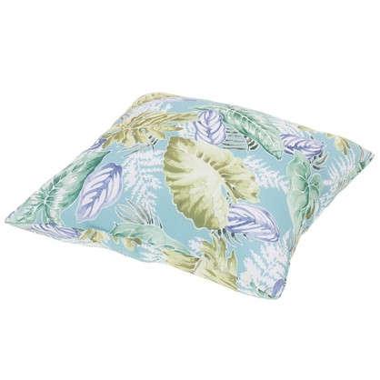 Купить Подушка декоративная Природа лист маленький 40х40 см дешевле