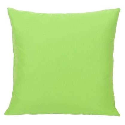 Подушка декоративная Радуга-405 40х40 см цвет салатовый