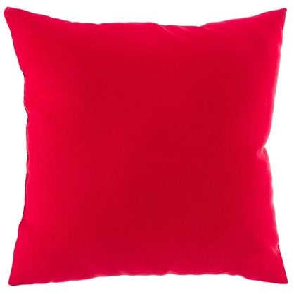 Подушка декоративная Радуга 40х40 см цвет красный
