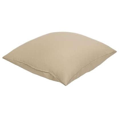 Купить Подушка декоративная Радуга 40х40 см цвет кремовый дешевле