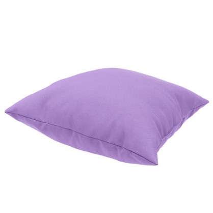 Подушка декоративная Радуга-808 40х40 см цвет светло-сиреневый