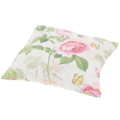 Подушка декоративная Садовый аромат 40х40 см цвет розовый