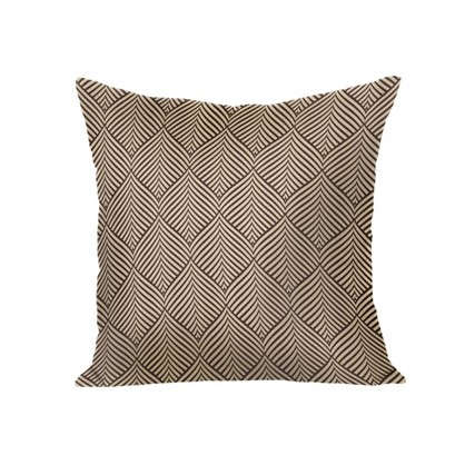 Подушка декоративная Sarov 40х40 см текстура рогожка