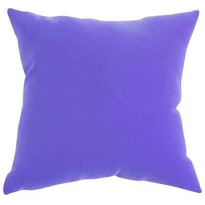 Подушка декоративная Шарм 40х40 см цвет сиреневый