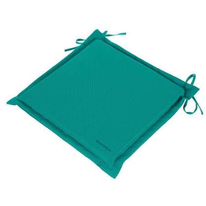 Купить Подушка для стула голубая 43х43 см полиэстер дешевле
