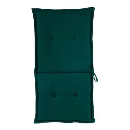 Купить Подушка для стула голубая 92х42х5 см полиэстер дешевле
