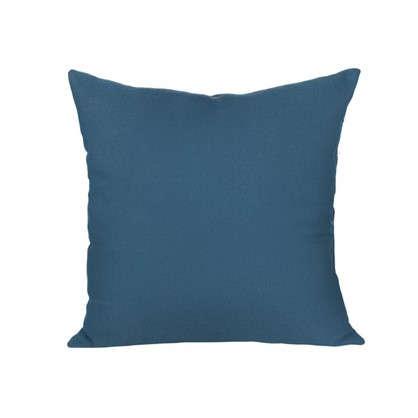 Купить Подушка для стула Рогожка 40х40 см цвет синий дешевле