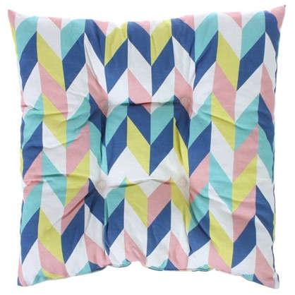Подушка для стула Скандинавия 40х40 см цвет синий
