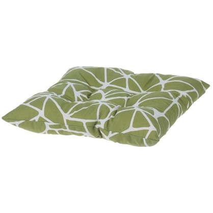 Подушка для стула Тропикана 40х40 см цвет зеленый