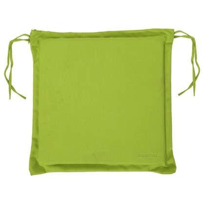 Доставка Подушка для стула зеленая 43х43 см полиэстер по России