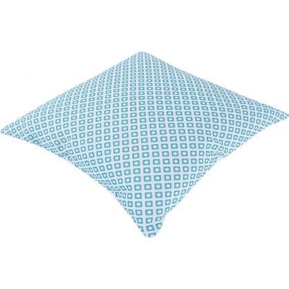 Подушка Joly 40х40 см цвет бирюзовый