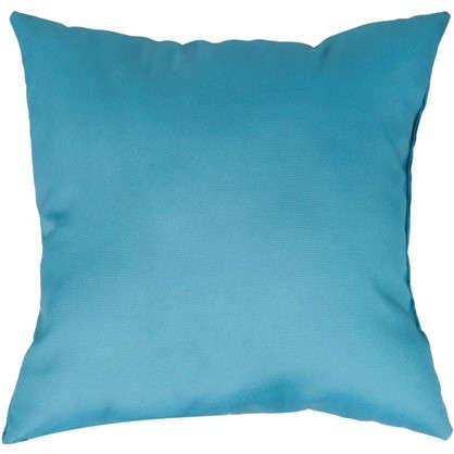 Подушка Кисти 40х40 см цвет бирюзовый