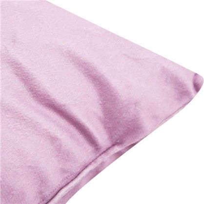 Подушка Люпин 40х40 см цвет розовый