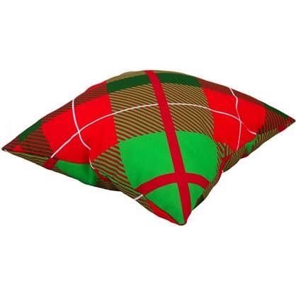 Подушка Новый год геометрия 40х40 см