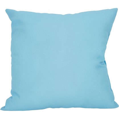Подушка Шарм 40х40 см цвет серый/голубой