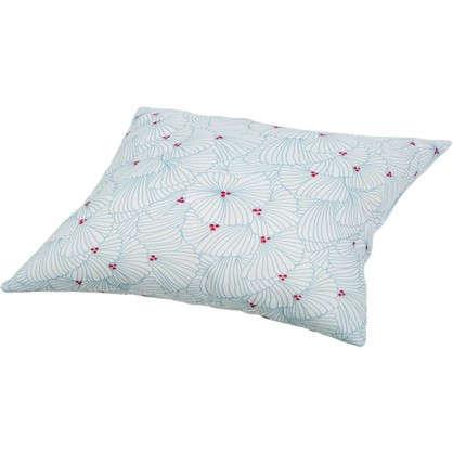 Подушка Шарм Узоры 40х40 см цвет белый