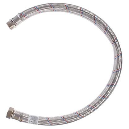 Подводка для воды внутренняя-наружная резьба 1 дюйма 100 см