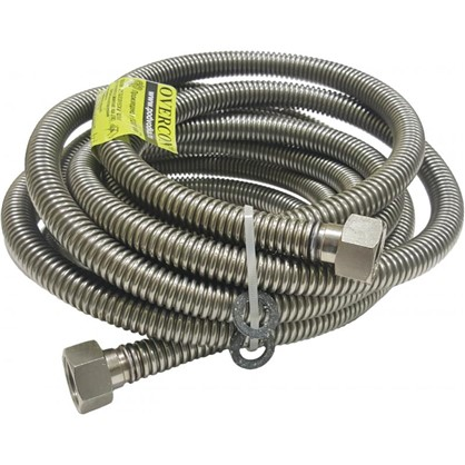 Купить Подводка газовая сильфонная 500 см х 1/2 дюйма внутренняя резьба дешевле