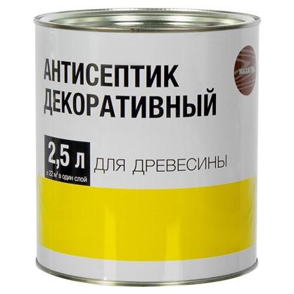 Покрытие защитно-декоративное для дерева цвет махагон 2.5 л