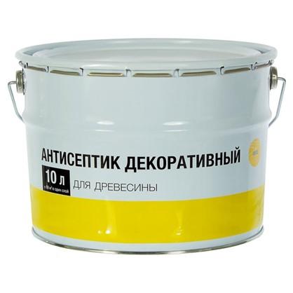 Покрытие защитно-декоративное для дерева цвет сосна 10 л