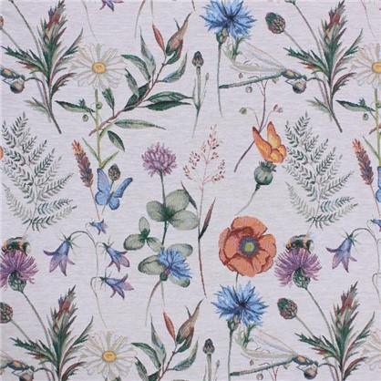 Покрывало Полевые цветы 150x220 см гобелен