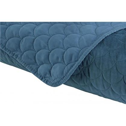Купить Покрывало стеганое GreatGatsby 220x240 см цвет синий дешевле